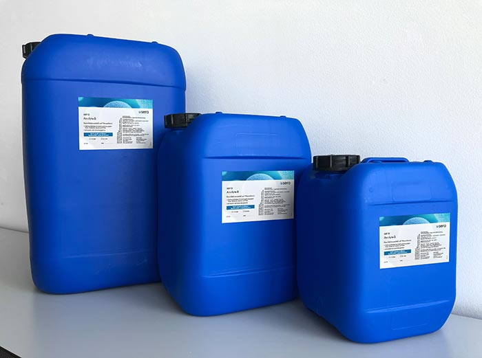 sera Group produces urgently required disinfectants for the german and austrian market